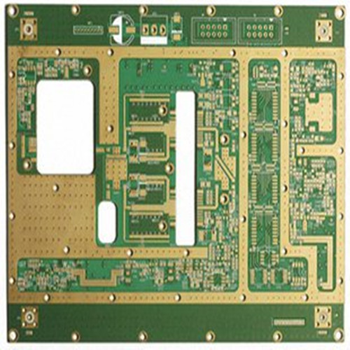 12 layers Multilayer pcb board with EING surface finish