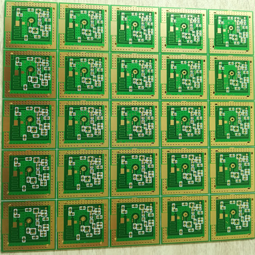 Double sided PCB with Immersion gold surface finish