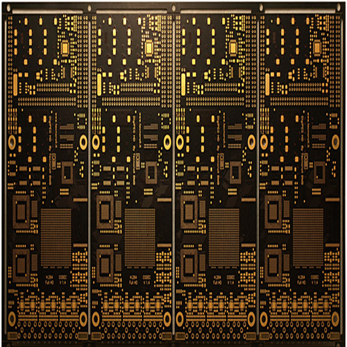 8 layer Immersion gold with BGA Black PCB board